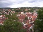 Tübingen,Sicht vom Schloss